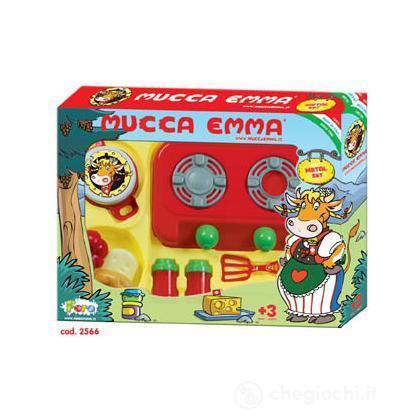 Set fornello con tegami metal Mucca Emma (2566)