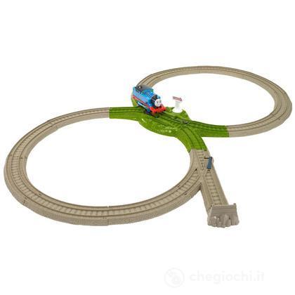Set Bivio per l'avventura deluxe - Thomas & friends Trackmaster (BDP16)