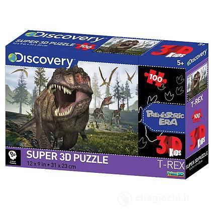 Puzzle 3D Discovery: Tyrannosaurus 100 pezzi