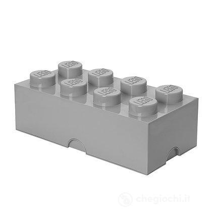 Contenitore LEGO Brick 8 Grigio