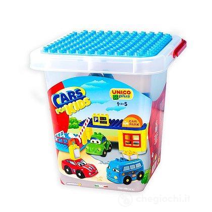 Cars for kids mezzi e parcheggi 35 pezzi (104114369)