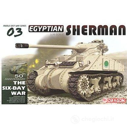 Carro Armato EGYPTIAN SHERMAN 1/35 (DR3570)