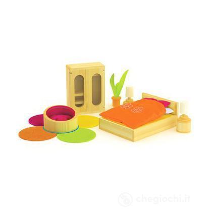 Camera da letto hape casa delle bambole e accessori for Accessori camera da letto