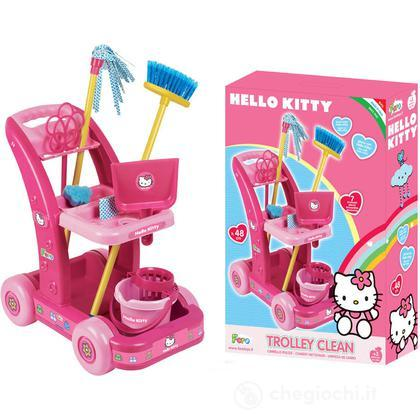 Carrello pulizia maxi Hello Kitty (4570)