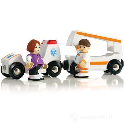 Ambulanza luci e suoni (33575)
