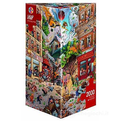 Puzzle 2000 Pezzi Triangolare - Apocalisse