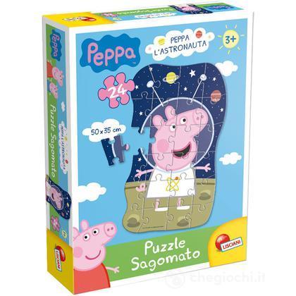 Puzzle Sagomato Peppa Astronauta