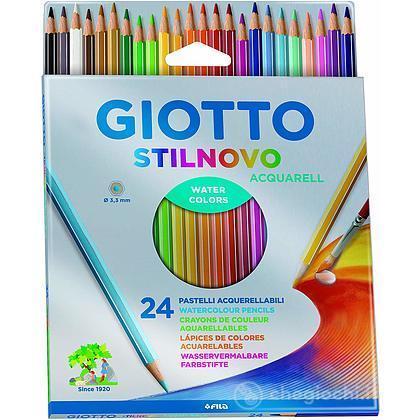 Astuccio 24 Giotto Stilnovo Matite Acquerellabili
