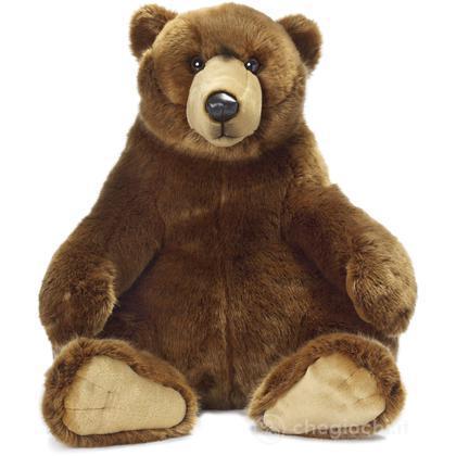 Grizzly orso seduto grande