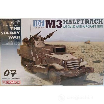 Mezzo blindato IDF M3 Halftrack W/TCM-20 1/35 (DR3586)