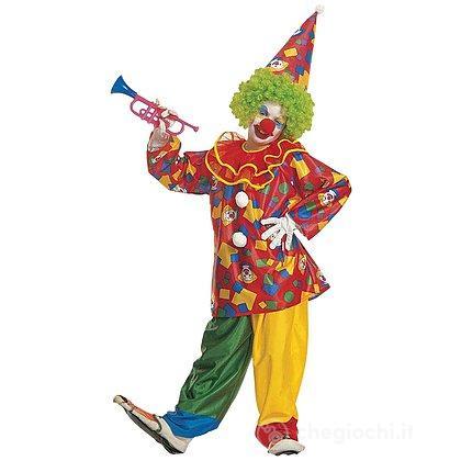 Costume Pagliaccio funny clown 5-7 anni