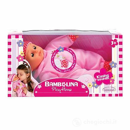 Bambolina bambola 33 cm con suono bacio (BD220)