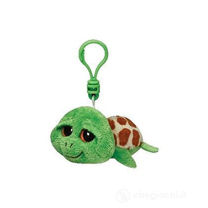 Peluche tartaruga Beanie Boos Clips Zippy Portachiavi (36589)