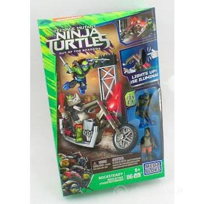Rocksteady moto Ninja Turtles