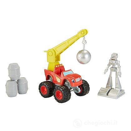 Veicolo Blaze and the Monster Machines Wrecking Crane Blaze (CGK19)