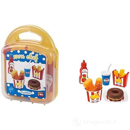Valigetta Fast Food Nuggets e ciambella donuts (7600002590)