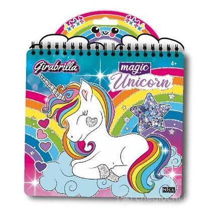 Girabrilla book magic unicorno (2590)