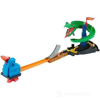 Attacco al cobra. Creature mostruose Hot Wheels City (FNB20)