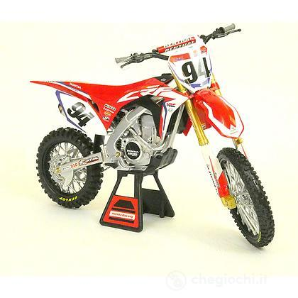 Moto Cross Honda CRF450 scala 1/6 (49593)