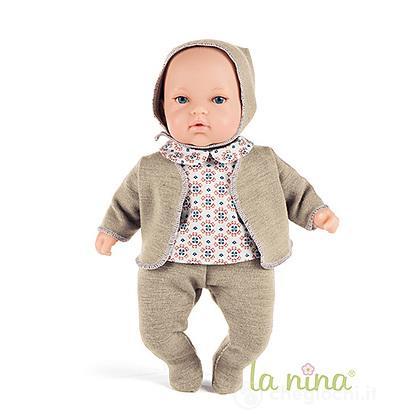 Bebe La Nina Completo Maglia Grigio (61597)