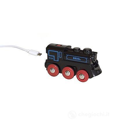 Locomotiva ricaricabile/mini cavo USB (33599)