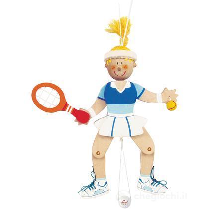 Burattino Sport Tennista