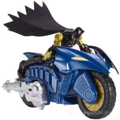 Batman Transforming Bat Chopper - Batman Personaggi con veicoli (BHC88)
