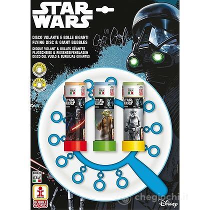 Star Wars: Disco Volante Bolle Giganti (Bolle Di Sapone)