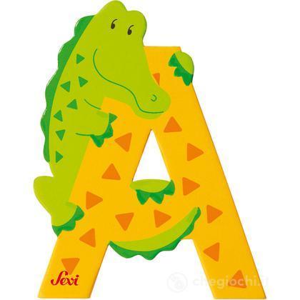 Lettera A Alligatore