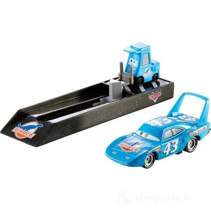 Cars King con lanciatore (Y9060)