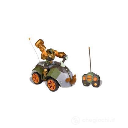 Gormiti - Quad radiocomandato con personaggio