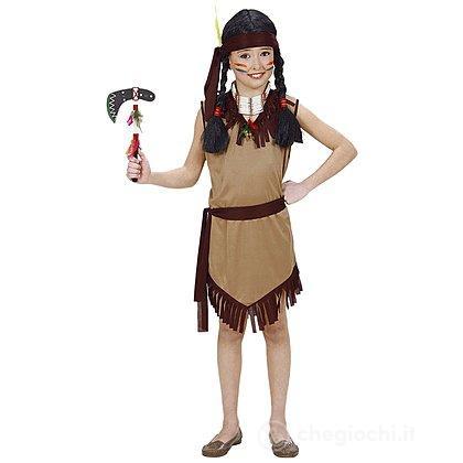 Costume Squaw Indiana 5-7 anni