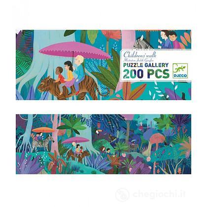 Puzzle Children's walk - A passeggio nella giungla 200 pezzi DJ07607