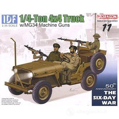 Camionetta IDF 1/4 TON 4X4 TRUCK w/MG34 1/35 (DR3609)