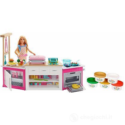 Barbie La Cucina dei Sogni. Luci e suoni (FRH73)