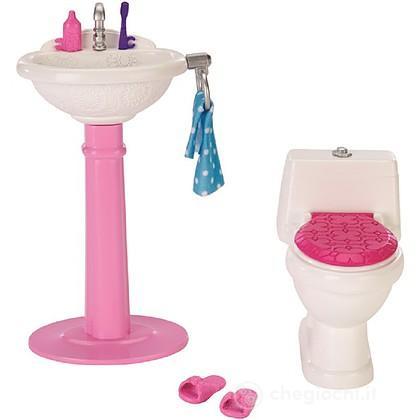 Bagno Barbie (DTJ69) - Accessori bambole - Mattel - Giocattoli ...