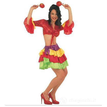 Costume adulto Brasileira S (32611)