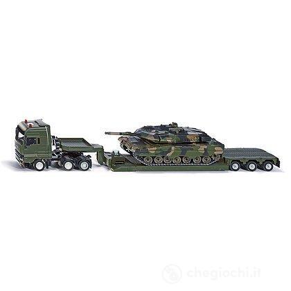 Camion Militare + Tank (8612)