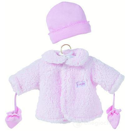 Cappotto rosa piccolo