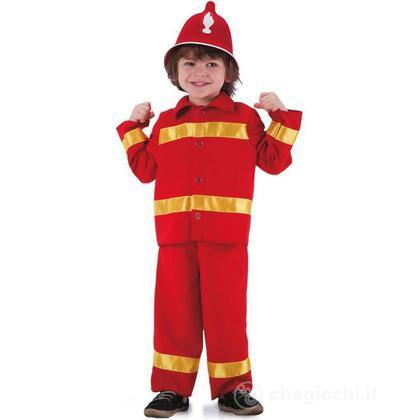 Costume Pompiere taglia III (63615)