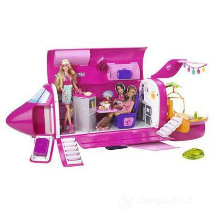 Il glam jet di Barbie
