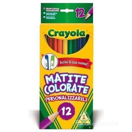 12 Matite Colorate Personalizzabili (3620)