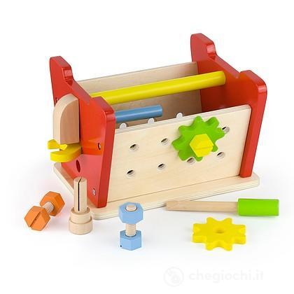 Banco Lavoro in legno 22x19x15 cm (VG51621)