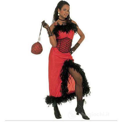 Costume adulto Saloon Madame S (32621)