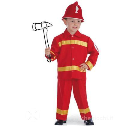 Costume Fireman Pompiere taglia VII (63621)