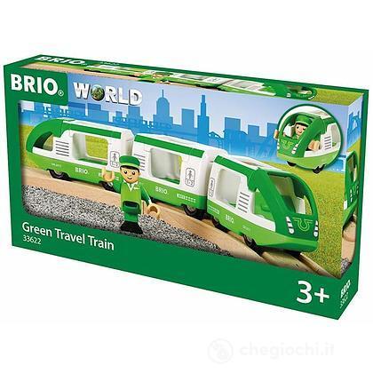 Brio treno passeggeri verde (33622)