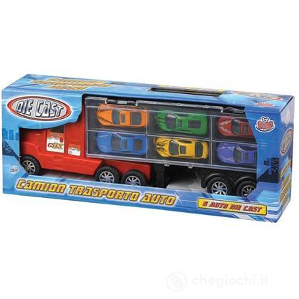 Camion Con Auto die cast 36 Cm. (GG50622)