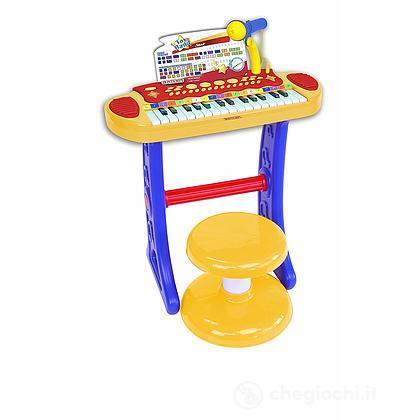 Tastiera con gambe e sgabello 31 tasti (13 3242)
