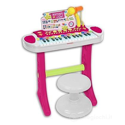Tastiera con gambe e sgabello 31 tasti (13 3672)