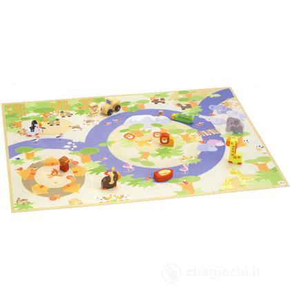 Puzzle Safari con miniature (82625)